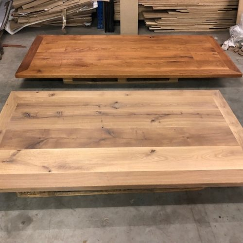 Eiken kader tafels