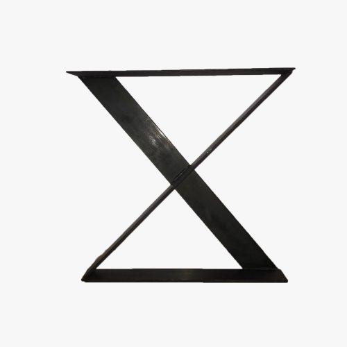 stalen X poten strips